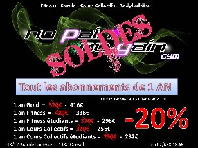 avis No Pain No Gain